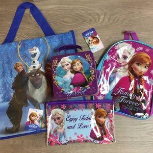 Frozen Mini Lunchbox Mini Backpack Pencil Bundle
